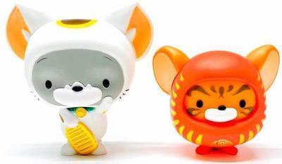 Maneki-neko_and_daruma_chibi_tom__jerry_set-warner_bros-warner_bros_get_animated-toyqube-trampt-320064m