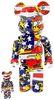 100% + 400% Keith Haring #7 Be@rbrick (Set)
