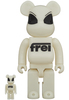 100% + 400% GID Frei Be@rbrick (Set)
