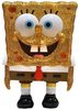 Full Color Gold Lame Spongebob