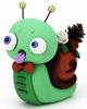 Green Winter Lazyland Snail