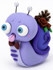 Purple Winter Lazyland Snail