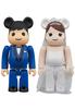 100% Greeting Marriage 4 Bearbrick (Set)