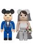 400% Greeting Marriage 4 Bearbrick (Set)