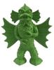 Green XL Winged Amphibian Creature
