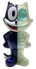 Full Color Navy GID X-Ray Felix the Cat
