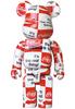 1000% Atmos x Checkboard Coca-Cola Be@rbrick