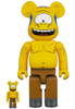 100% + 400% Cyclops : The Simpsons Be@rbrick (Set)