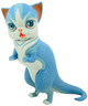 Cornflower Dinokitty