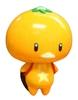 Yellow Mini Mikkan Kappa