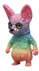 Florescent Rainbow Hairless Cat