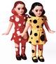 Yayoi Kusama Inspired Polka Dot Twins