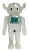 Clear Glitter Ace Robo