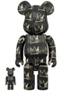 100% + 400% Jean-Michel Basquiat #8 Be@rbrick (Set)