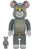 100% + 400% Flocked Tom : Tom & Jerry (Set)