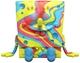 Rainbow Swirls Spongebob Squarepants XXposed