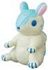 White Blue Komugi the Chipmunk