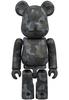 Black Camo Bearbrick : A Bathing Ape 28th Anniversary