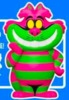 Blacklight Cheshire Cat (Chase) : Alice in Wonderland