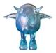 Blue Resin Mini Eggie