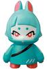 Teal Denshikosagi Rabbit