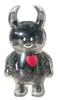 Black Love Heart Uamou