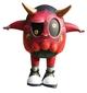 Red Oni Eggie Custom