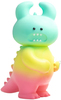 Tropical Rainbow Dino Uamou