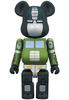 200% Green Optimus Prime x Bape Be@rbrick