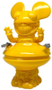 Yellow Deadmau5 Grin