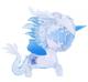 "5"" Ice Crystal Dragon Unicorno"