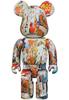 400% Andy Warhol x Jean-Michel Basquiat #4 Bearbrick