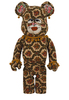 1000% One of Kind Pattern Be@rbrick