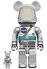 100% + 400% Project Mercury Astronaut Be@rbrick (Set)