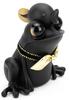 Black Baby APO Frog with Tadpole