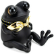 Black Fat Baby APO Frog with Tail