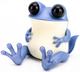 Light Blue Fat Baby APO Frog with Tail