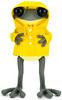 """8"""" APO Frog with Yellow Raincoat"""