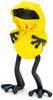 """5"""" Yellow Butterfly Hanbok Cape"""