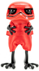 """5"""" Red Trooper APO Frogs"""