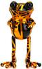 """5"""" Orange Stripe Golden Age APO Frogs"""