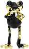 """5"""" Black & Gold Golden Age APO Frogs"""
