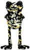 """5"""" Black and Gold Camo Golden Age APO Frogs"""
