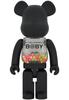 1000% GID Matte Black My First B@by Bearbrick