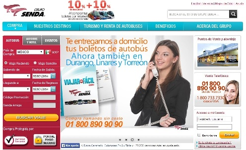 Boletos transportes Tamaulipas