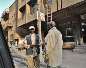 African immigrants in Baghdad's Al-Bataween area, Iraq