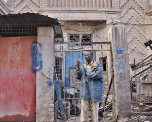 African immigrant in the Iraqi capital Baghdad
