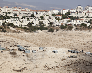 Bedouin Settlement near Israeli Housing in Danger of Expulsion (2 of 19)