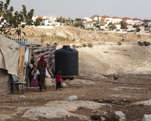 Bedouin Settlement near Israeli Housing in Danger of Expulsion (1 of 19)