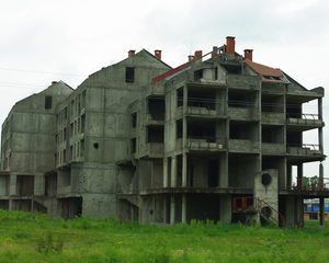 War-scarred Bosnia